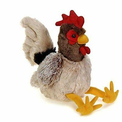 rooster plush stuffed animal toy 8 inches