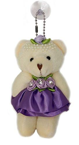 rose pearl tiara teddy bear