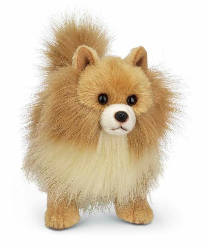 Rudy Pomeranian Plush Stuffed Animal Puppy Dog 13 inches Toy