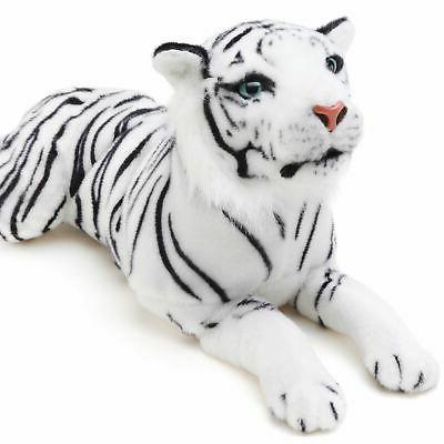 sada white tiger long stuffed