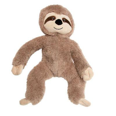 "Gitzy Sloth Animal 18"" Plush Toy For Kids"