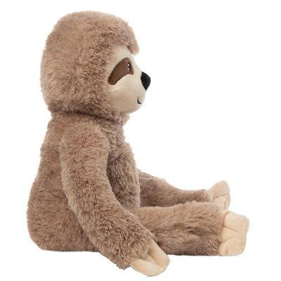 """Gitzy Sloth Stuffed Animal 18"""" Large Toy For Kids"""