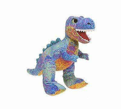 scribbleez colorful plush stuffed animal 14 t