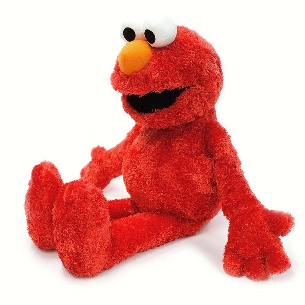 "Gund Sesame Street Jumbo Elmo Stuffed Animal, 20"" inches Fun"