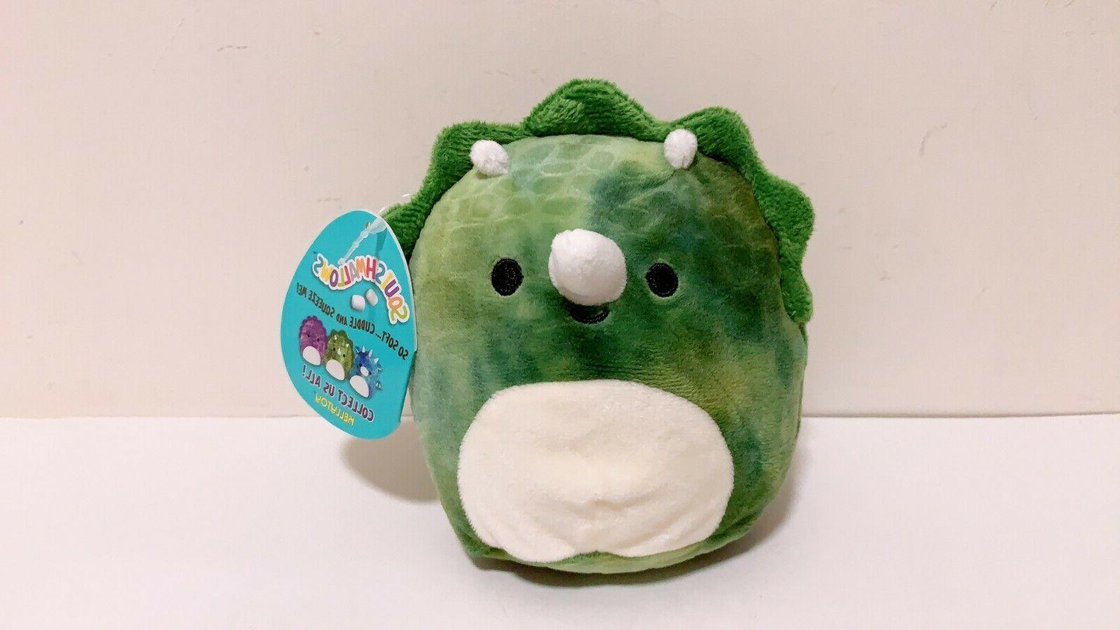 "Squishmallows Dino Dragon 5"" Mini Doll Toy"