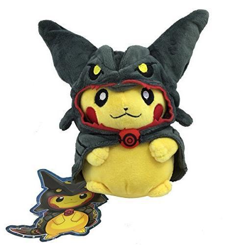 shiny black rayquaza poncho pikachu