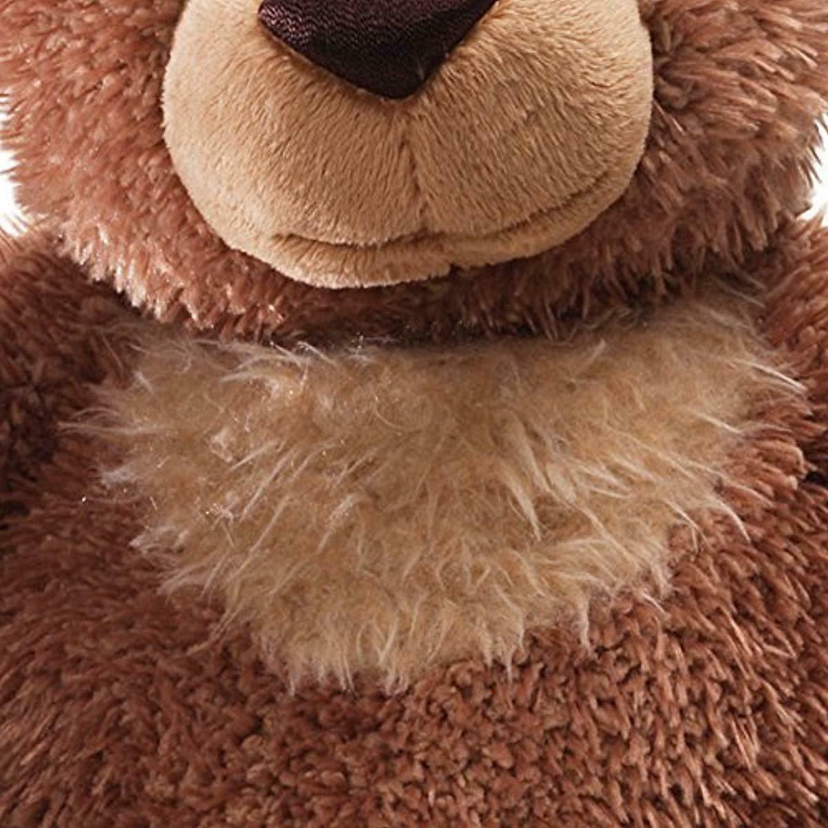 "GUND Slumbers Stuffed Plush, Brown, 17"""