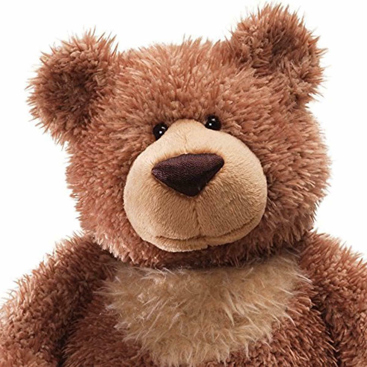 "GUND Slumbers Teddy Stuffed Animal Brown, 17"""