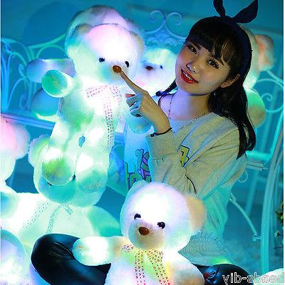 LED Stuffed Animals Plush Soft Toy Christmas USA