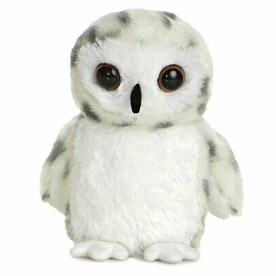 snowy owl aurora plush stuffed