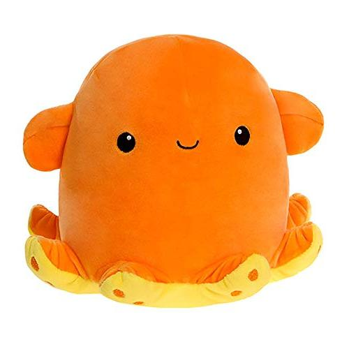 snugglies orange dumbo octopus stuffed