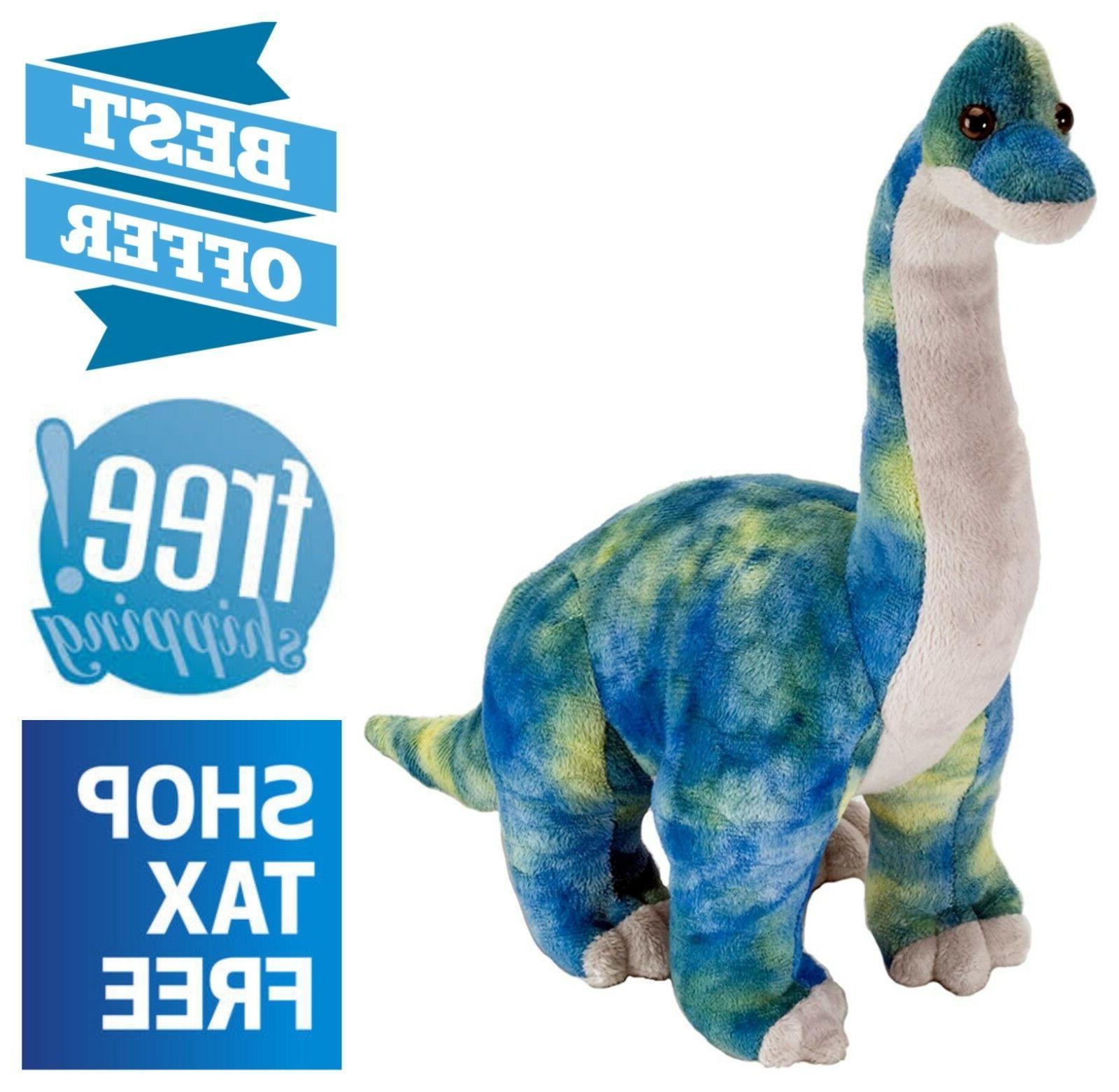 soft brachiosaurus dinosaur plush 10 cuddly stuffed