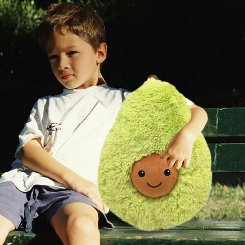 Soft Stuffed Animals Avocado Pillow Doll Squishy Plush Toys