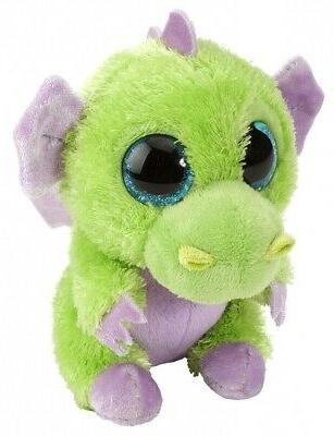 sour apple green dragon plush