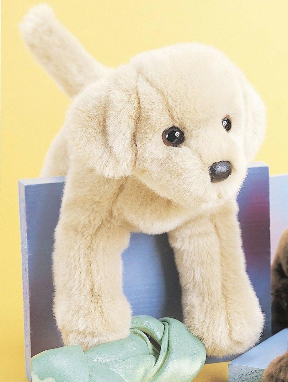 spankie yellow lab plush labrador