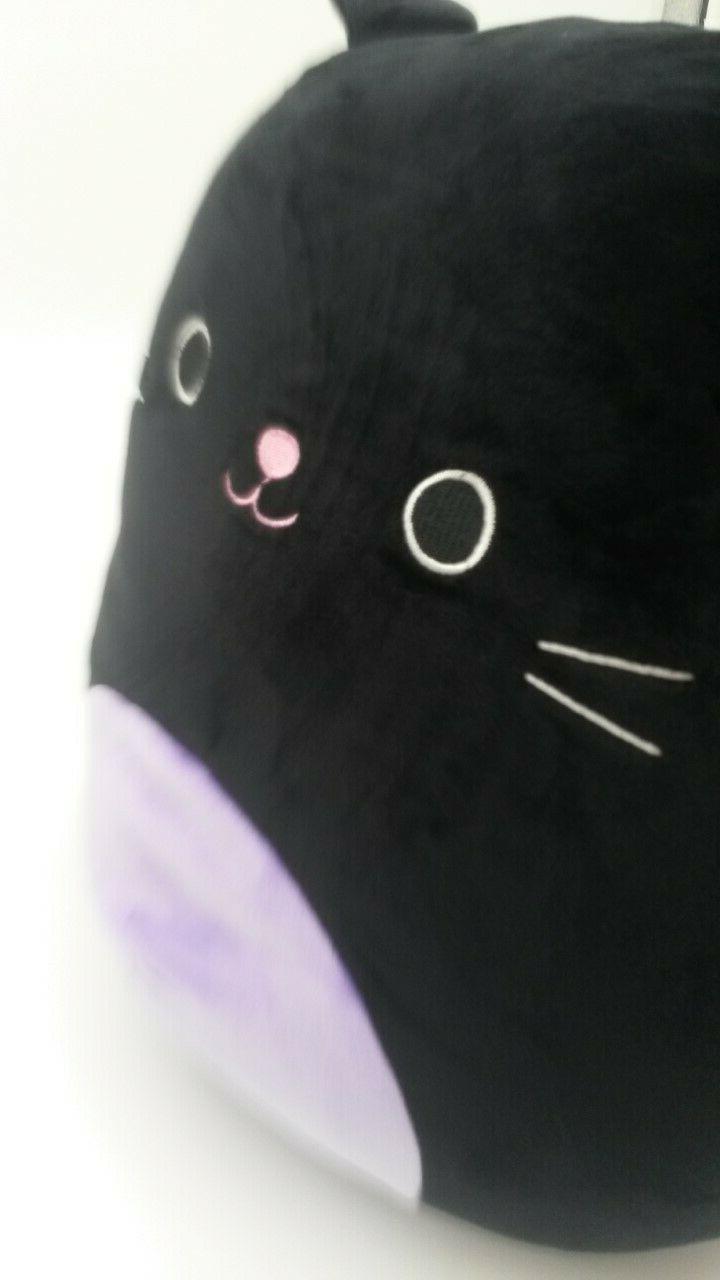 """12"""" Pillow NWT Kellytoy Purple Kitty Rare"""