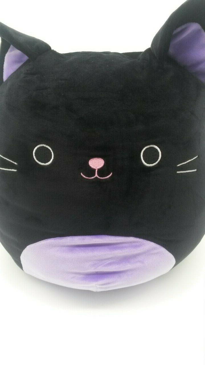"""Squishmallow Autumn Cat 12"""" Pillow Kellytoy Kitty"""