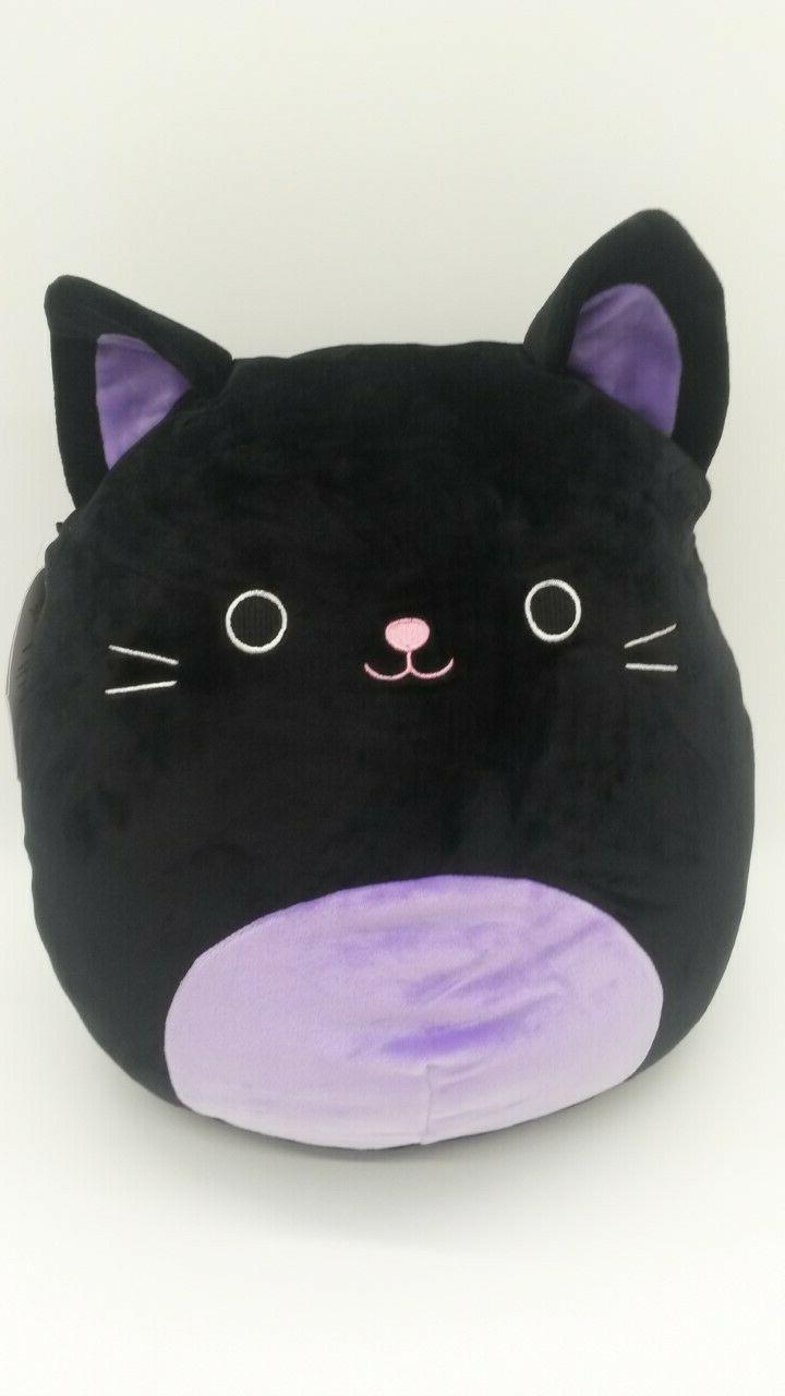 "Squishmallow Cat 12"" Plush Pillow Kellytoy"