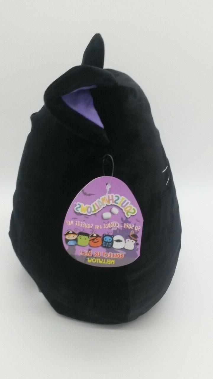 "Squishmallow Autumn 12"" Kellytoy Purple Kitty Rare"