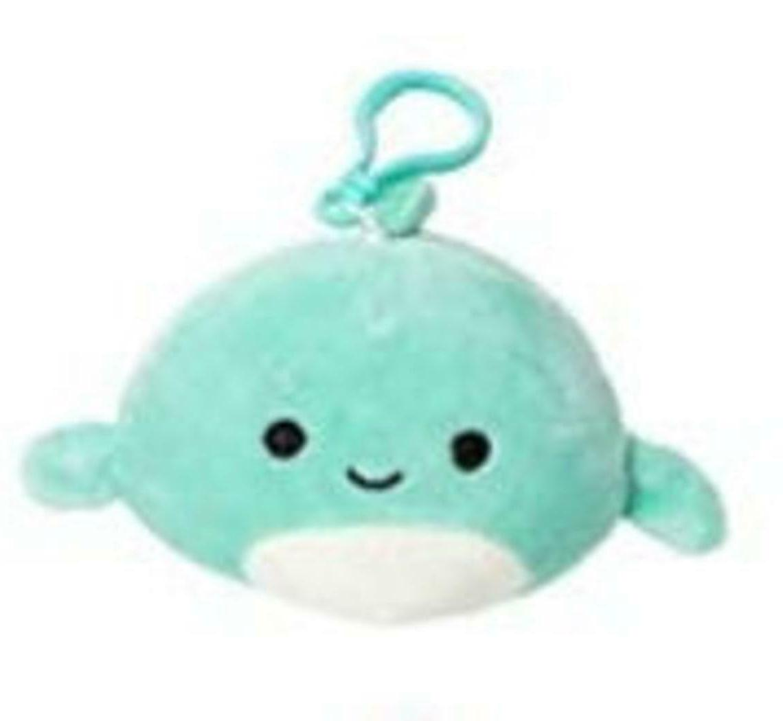 Squishmallow Kellytoy Sea Life 3.5 inch Perry The Dolphin- S