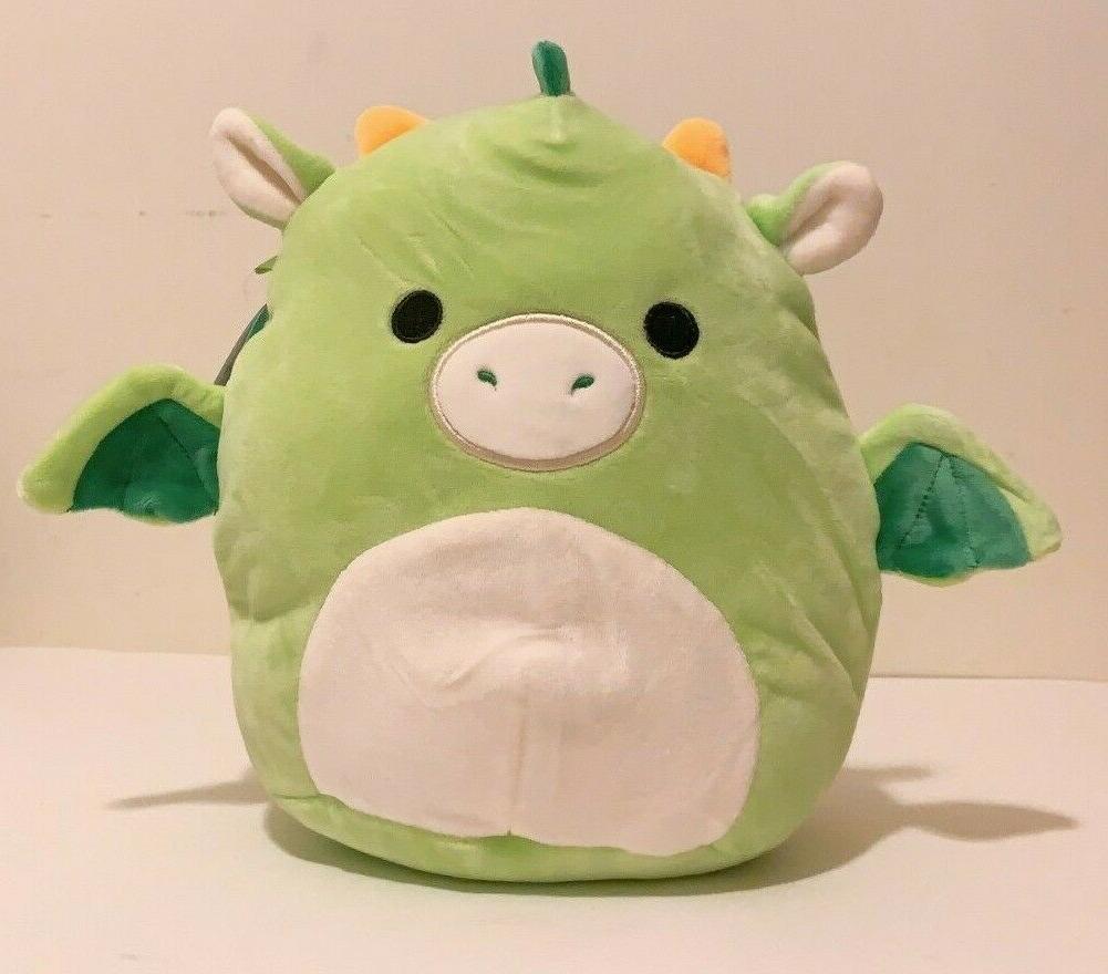 squishmallows animal 8 dexter the green dragon
