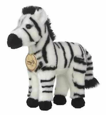 standing zebra plush stuffed animal