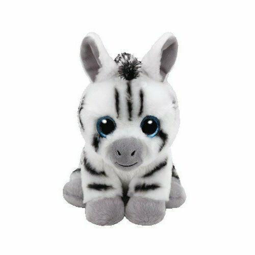 stripes zebra beanie babies stuffed animal 8