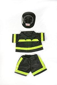 Stuffed Animal Clothing Accessories Fireman Outfit Teddy Bea