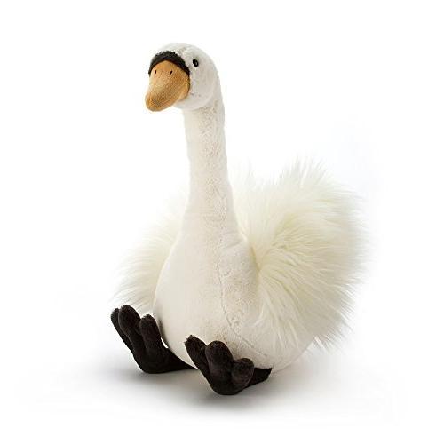 Infant Jellycat 'Medium Solange Swan' Stuffed Animal