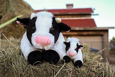and Baby Set - Super Soft Plush Animal