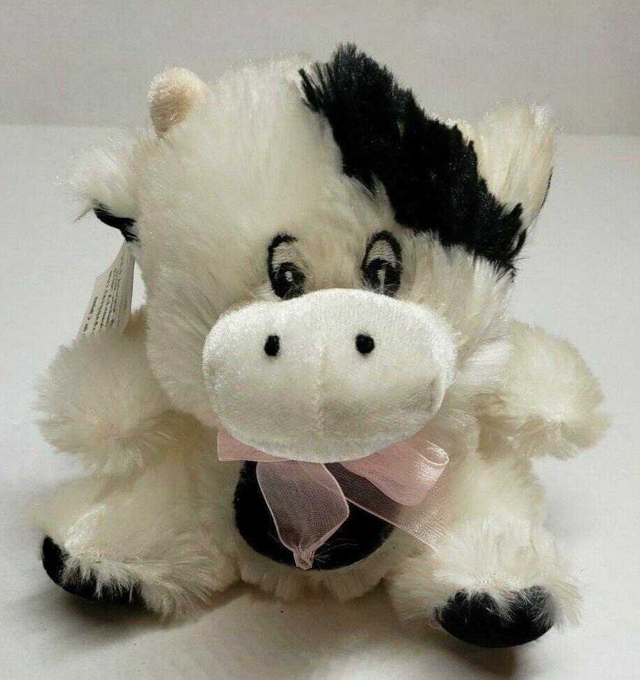 stuffed cow plush stuffed animal 7 inch
