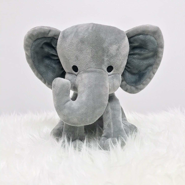 Stuffed Elephant Animal Plush - Baby, Boy, Girls - for