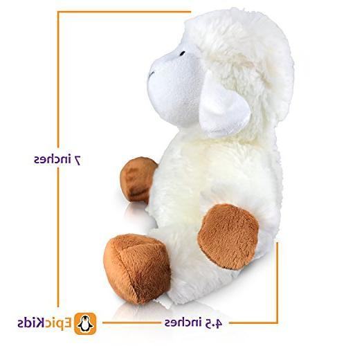 EpicKids Stuffed Sheep Plush Lamb Animal Suitable Children - 7