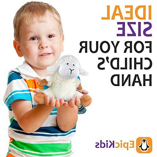 EpicKids Stuffed Plush Lamb Suitable for Babies Children - 7