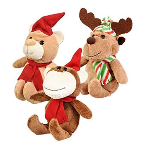 Christmas Santa and Toys, 6-ct Set Christmas House