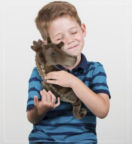 Dollibu Stuffed Soft Plush Wild Animals Collection Horse-