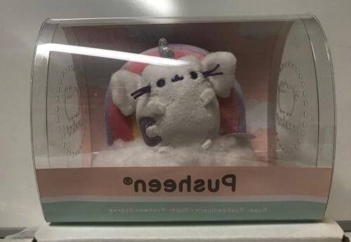 stuffed super pusheenicorn on cloud plush magnet