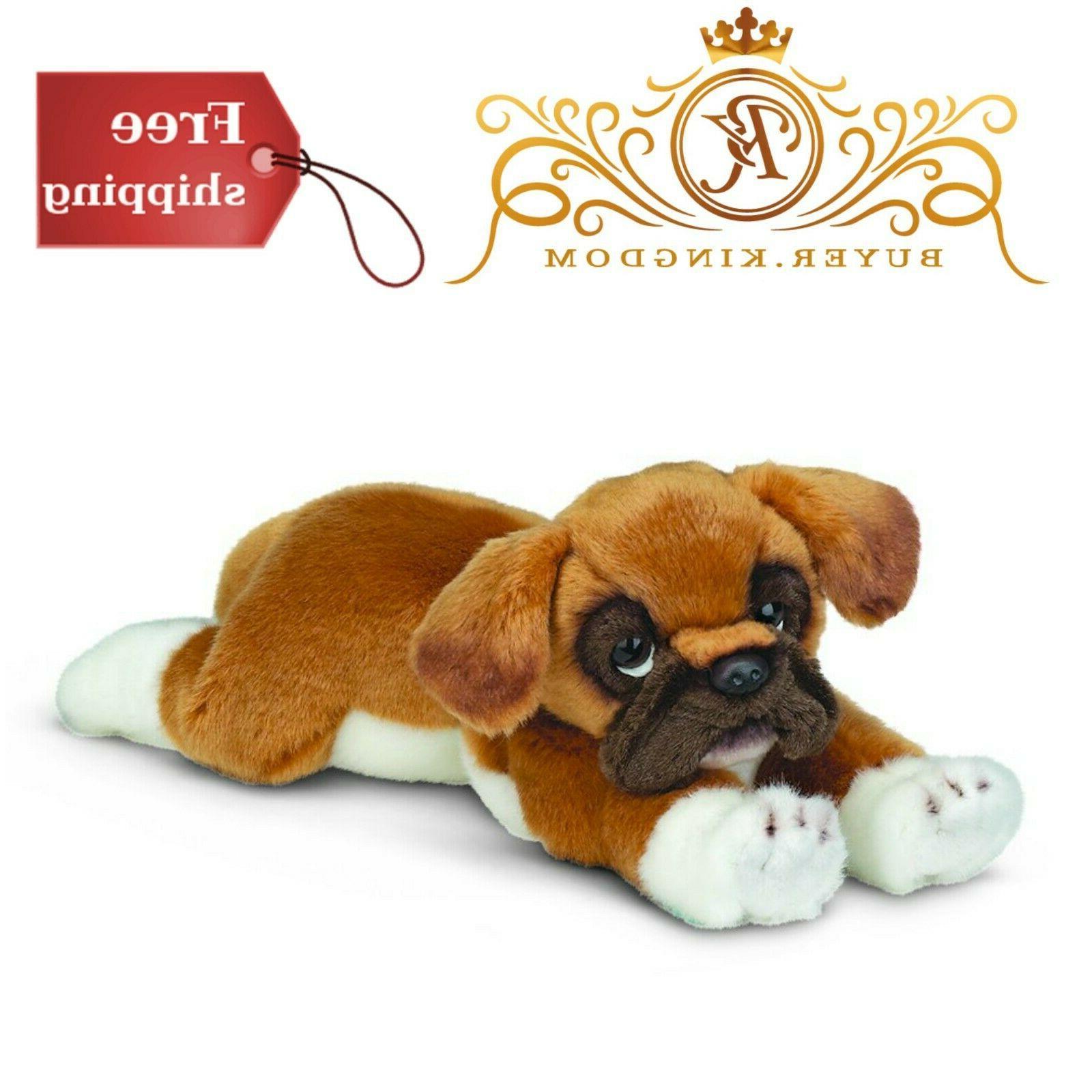 stuffed toy puppy dog roscoe boxer kitten