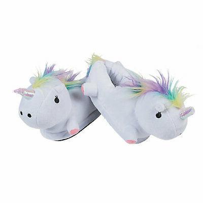 stuffed unicorn slippers apparel accessories 2 pieces