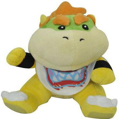 "Super Bowser Jr Baby Toy Stuffed 6"" US Stock"