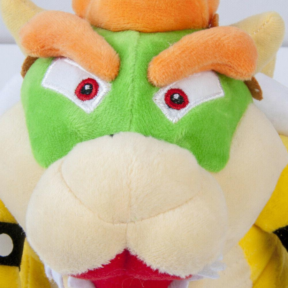 Super King Koopa Soft Plush Toy 10In