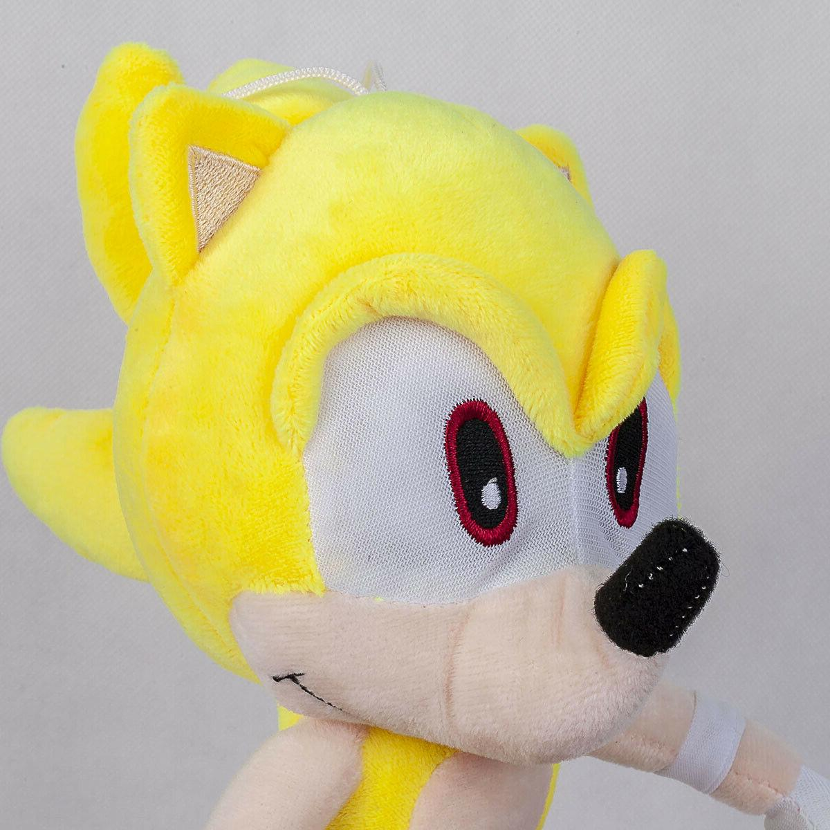 Super Sonic Doll Stuffed Animal Plushie Toy Gift 13 In