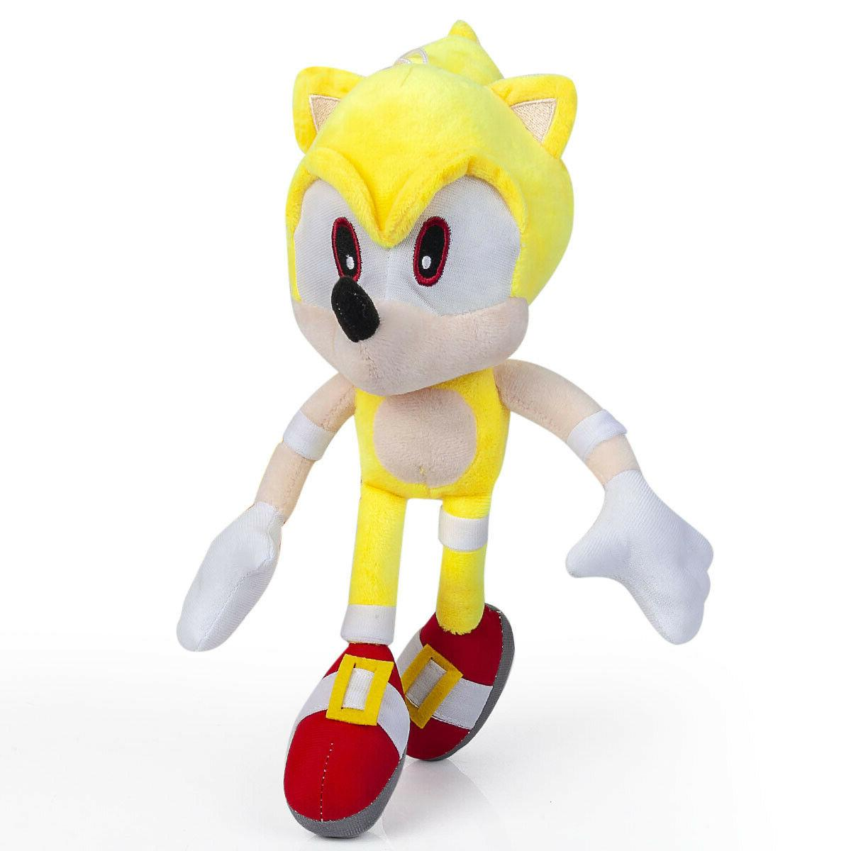 Super Sonic Plush Doll Stuffed Animal Plushie Soft Toy Collection 13
