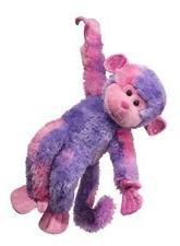 Douglas Toys Swinger Pink/purple Monkey
