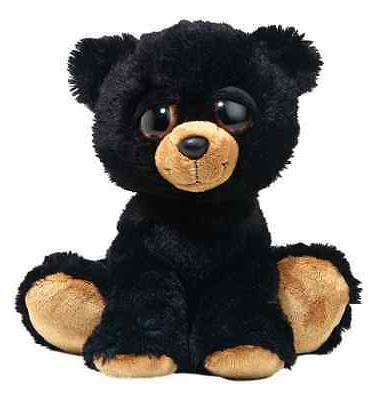 Teddy Bear plush soft Cuddly cute gift animal toy black kid