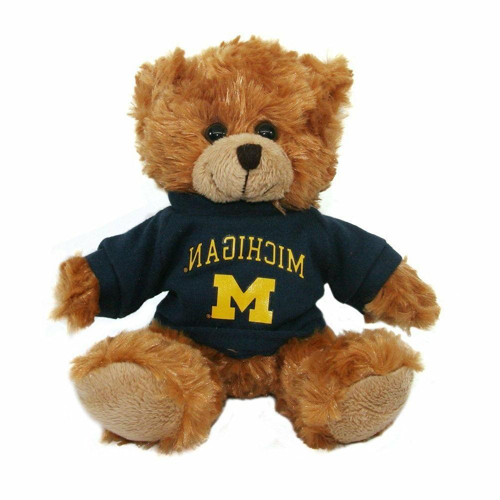 "Teddy Bear Plush Stuffed Animals Kids Gifts Toys Brown 6"" Mi"