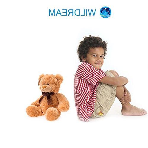 WILDREAM Teddy Bear Stuffed Animal,11 Inches