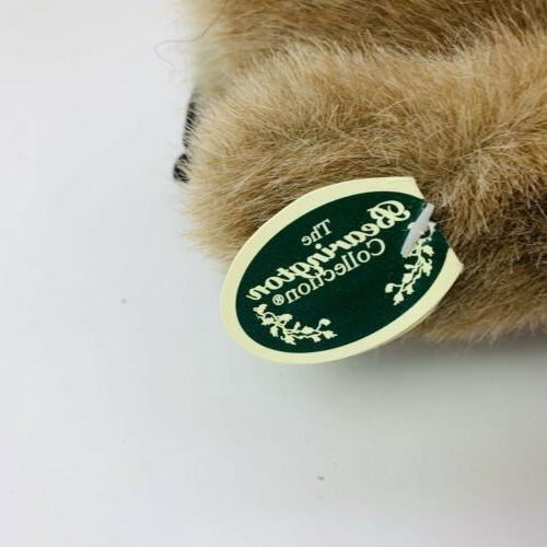"The Bearington Collection Baby Owl Plush Ollie Stuffed Animal Bird 6"""