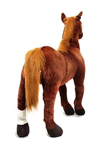 VIAHART Horse | 3 Foot Big Stuffed Pony Shipping from Texas by Tale