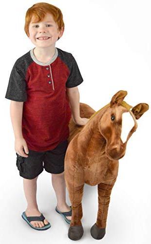 VIAHART Horse 3 Big Pony Texas Tale